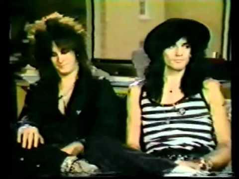 Nikki Sixx & Tommy Lee interview w/ Much More Music (1985)