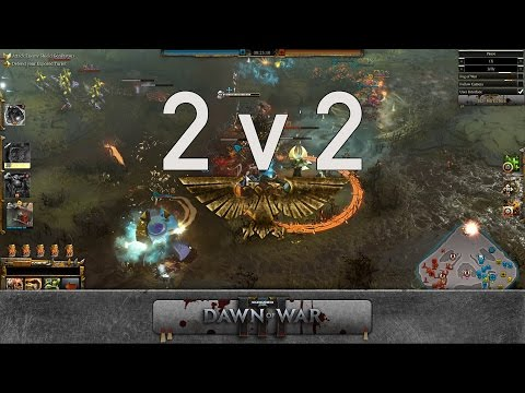 Dawn of War 3 - 2v2 | HansMoleman + Fortune [vs] Jelly + GoreDell