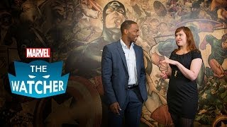 Anthony Mackie talks Marvel's Captain America The Winter Soldier - The Watcher Ep 14 2014
