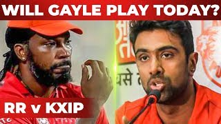Will GAYLE Play Today's Match? RR vs KXIP | Preview & Fantasy League Prediction | Match 4 IPL 2019