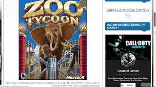 How to download zoo tycoon 1 game  for pc free full version