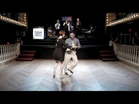 HARLEM 2017: Vincenzo & Katja with The Shirt Tail Stompers