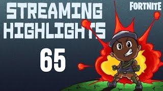 STREAMING HIGHLIGHTS 65 (Featuring TSM Hamlinz, TSM Daequan & TSM Myth) | Fortnite