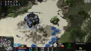 ZvT Nerchio vs uThemal - Mapa 6 - Starcraft 2 HD Polski komentarz
