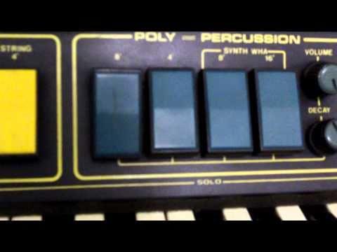 Orgão sintetizador palmer - cosmos x-11