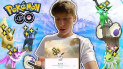 Shiny Evoli entwickeln✨ Community Day 8 • Pokémon Go deutsch