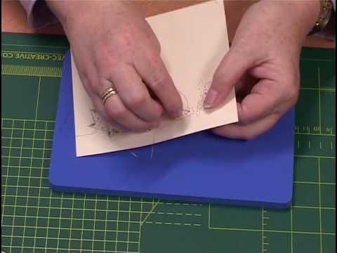 Verwonderend Borduren op papier - YouTube GX-51