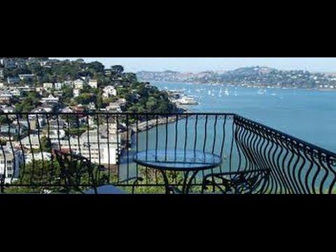 Тур на машине из San Francisco в Sausalito, Belvedere, ТЮРЬМА Tiburon FloridaYalta 20.08.2015