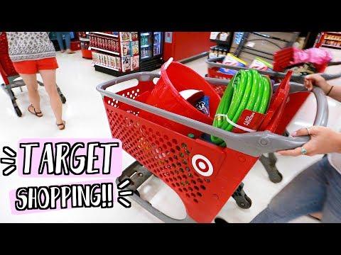 Target Shopping in Summer!! AlishaMarieVlogs