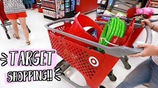target shopping in summer alishamarievlogs