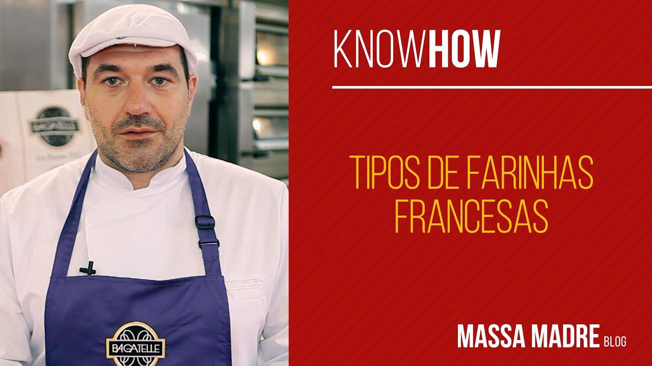 Tipos de Farinhas Francesas