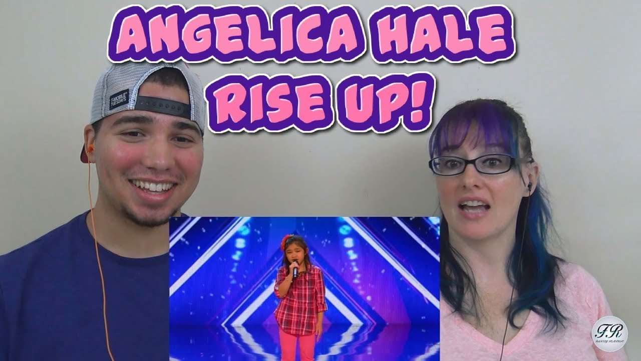 MOM & SON REACTION! Angelica Hale: 9-Year-Old Singer Stuns the Crowd with Rise up! AGT 2017
