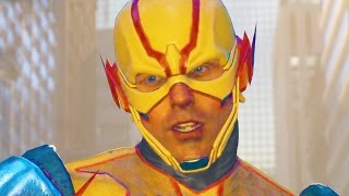 INJUSTICE 2 All REVERSE FLASH Intros Dialogue Character Banter 1080p HD