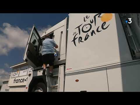 Camions du Tour de France