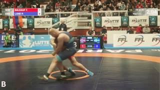 Спортивная борьба ЧМ 2016 Будапешт Красивая вертушка