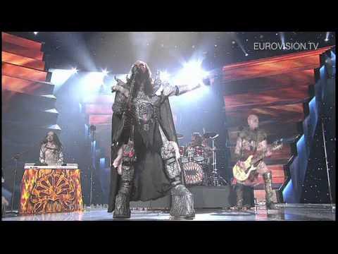 Lordi - Hard Rock Hallelujah (Finland) 2006 Eurovision Song Contest Winner Metal