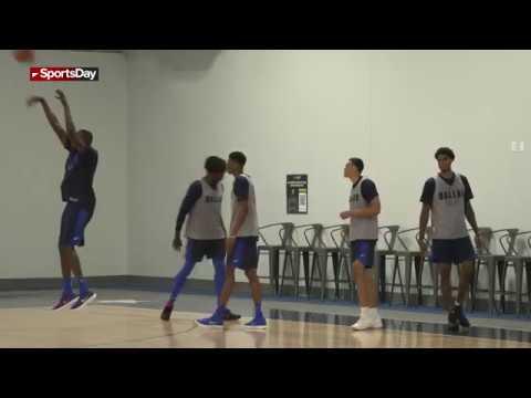 Dallas Mavericks hold first summer league practice
