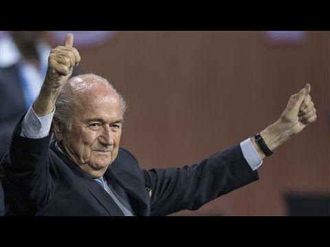 President Sepp Blatter Wins FIFA Election