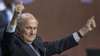 President Sepp Blatter Wins FIFA Election