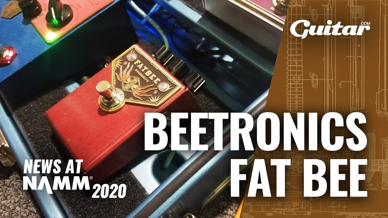 Listen to the affordable new Beetronics Fatbee Overdrive #NAMM2020