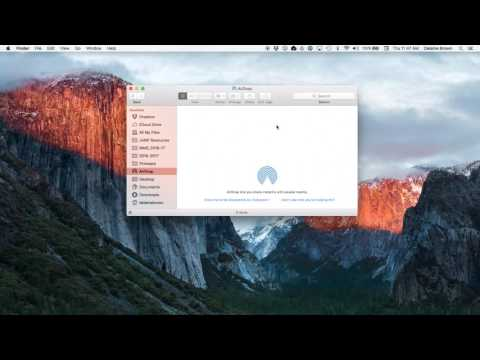 Troubleshooting AirDrop On You Macbook