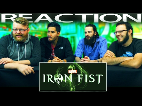 Marvel's Iron Fist | Official Trailer REACTION!!