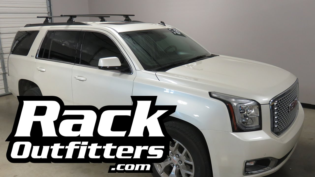 2015 2016 Gmc Yukon With Yakima Skyline Jetstream Roof