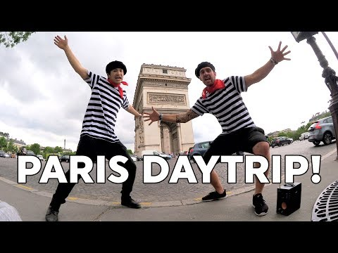 Paris DayTrip (Music Video) featuring Leslie Wai + Stuggy #EurostarSnap