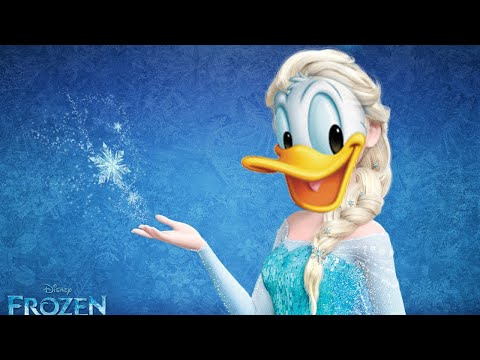 Donald Duck sings Let it Go!