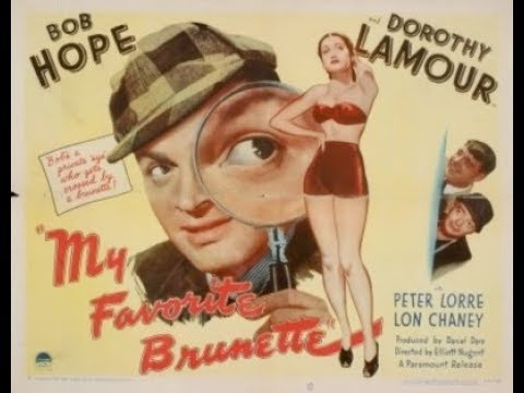 Image result for my favorite brunette 1947