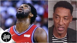 I don't know who the 76ers think their best player is - Scottie Pippen | The Jump