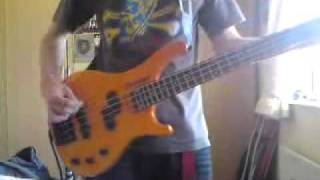 Biffy clyro semi mental bass cover