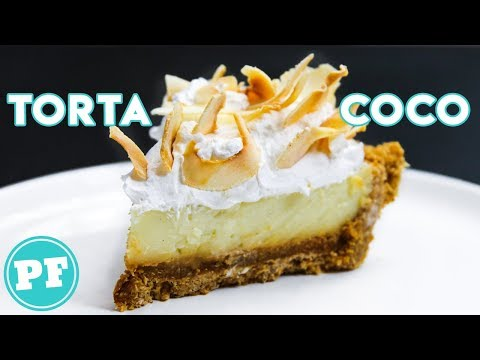 Torta de COCO CREMOSA da Claire da Bon Appétit | PratoFundo
