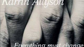Karrin Allyson   Everything must change