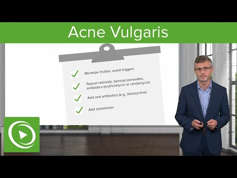 Acne Vulgaris: Dermatology- Miscellaneous Skin Disorders | Lecturio