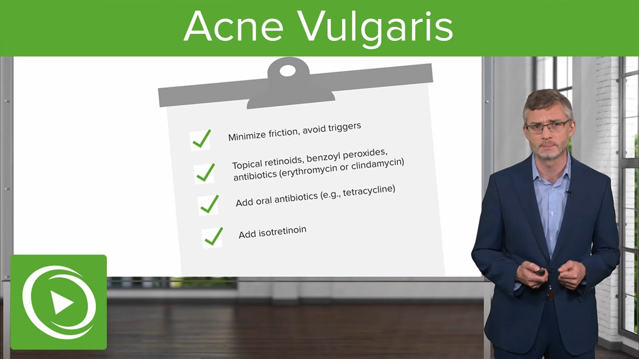 Acne Vulgaris: Dermatology- Miscellaneous Skin Disorders | Lecturio
