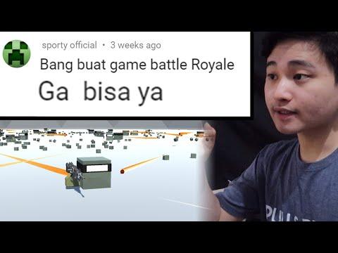 ngoding seharian demi jawab nih orang - Battle Royale - Indie Game Developer Indonesia