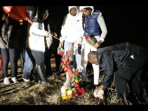 Candlelight vigil for Diamond Bradley