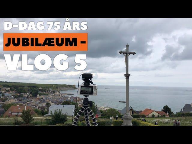 D Dag 75 års jubilæum  - Vlog 5 - Arromanches  og 360 Graders biograf