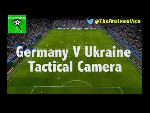 Germany V Ukraine TACTICAL CAMERA