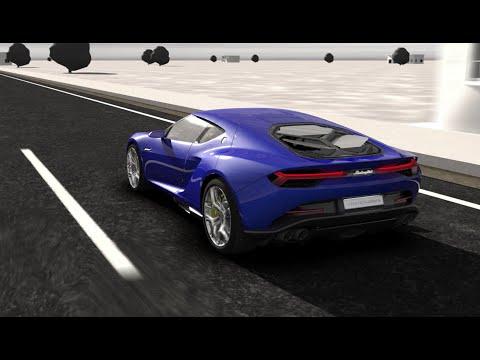 Lamborghini Asterion LPI 910-4 Hybrid technical animation