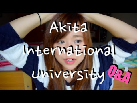 Akita International University Q&A | 国際教養大学
