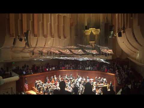Israel Philharmonic Orchestra plays Hatikvah (Israeli national anthem)
