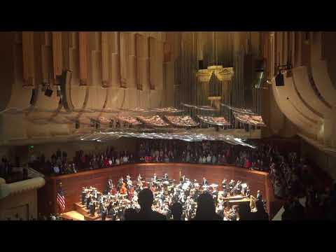 Israel Philharmonic Orchestra plays Hatikvah (Israeli national anthem)