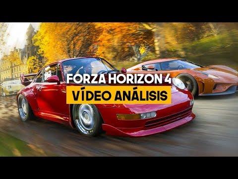 ANÁLISIS FORZA HORIZON 4: Conducción arcade de élite