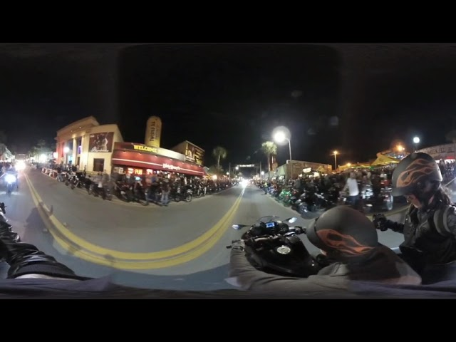 2019 Daytona Bike Week - Main Street - Yamaha Niken - 360VR