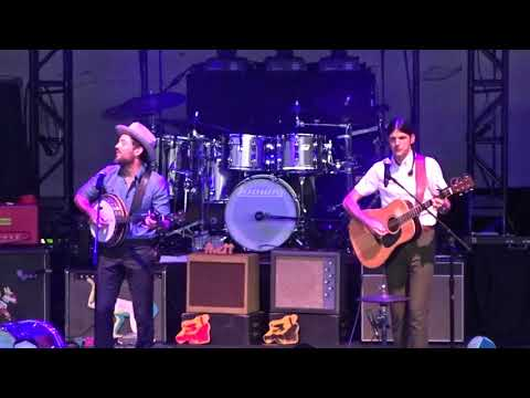 The Avett Brothers  Shame   at DTE Energy Music Theater in Clarkston, MI on 82518