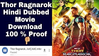 How to download Thor ragnarok full movie in hindi hd