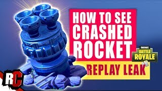 Fortnite UPDATE Villain Base Rocked Crash (Leaked Rocket Start Map Changes Week 10)
