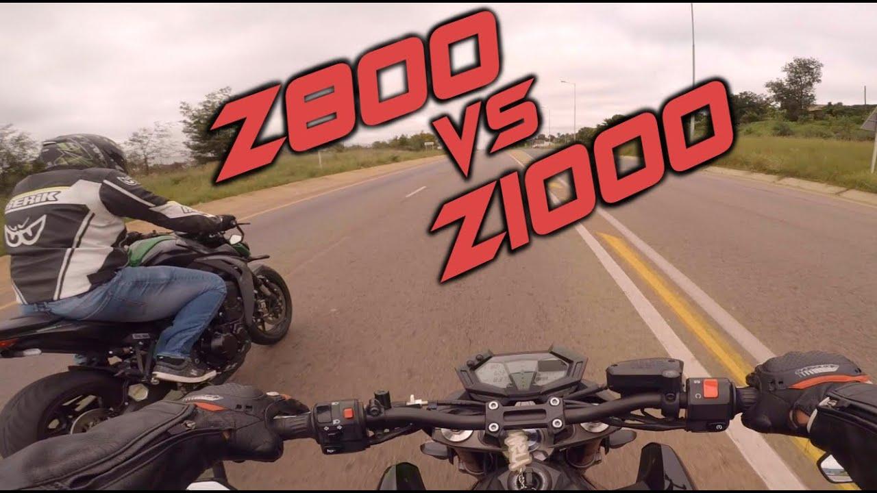 Kawasaki Z800 vs Z1000 - A Rude Awakening